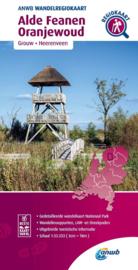 Wandelkaart Alde Feanen - Oranjewoud | ANWB | 1:33.333 | ISBN 9789018046392