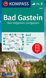 Wandelkaart Bad Gastein - Bad Hofgastein | Kompass 040 | 1:35.000 | ISBN 9783991210887