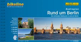 Fietsgids Radatlas Rund um Berlin - 1066 km | Bikeline | Fietsen om Berlijn | ISBN 9783850008846