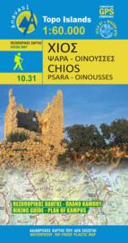 Wandelkaart Chios | Anavasi 10.31 | 1:60.000 | ISBN 9789608195301