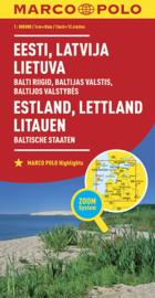 Wegenkaart Baltische Staten | Marco Polo | 1:800.000| ISBN 9783829738255