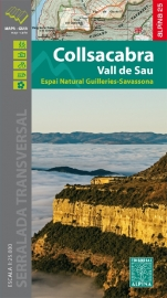 Wandelkaart Vall De Sau-Collsacabra | Editorial Alpina | Ten Noorden van Barcelona No. 1 | 1:40.000 | ISBN 9788480906067