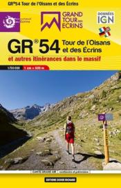 Wandelkaart Tour de L'Oisans et des Ecrins - GR 54 | Libris | ISBN 9782344037287