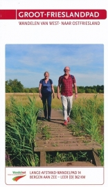 Wandelgids Groot-Frieslandpad | Wandelnet  -Nivon LAW 14 | ISBN 9789071068966