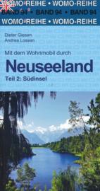 Campergids Nieuw Zeeland Zuid - Neuseeland Südinsel | WOMO verlag 94 | ISBN 9783869039435
