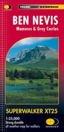 Wandelkaart Ben Nevis | Harvey Maps | Schaal 1:25.000 | ISBN 9781851374021
