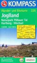 Wandelkaart Joglland | Kompass | 1:50.000 | Kompass 226 | ISBN 9783854916802