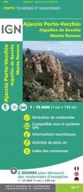 Wandelkaart - Fietskaart Ajaccio - Porto Vecchio - Aiguilles Bavella | IGN Nr. 31 | 1:75.000 | ISBN 9782758529088