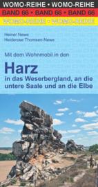 Campergids Harz - in das Weserbergland, an die untere Saale und an die Elbe | WOMO verlag 66 | ISBN 9783869036618