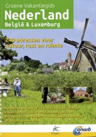 Kampeergids Groene vakantiegids Nederland, Belgie & Luxemburg | ANWB | ISBN 9789075050790