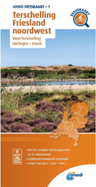 Fietskaart Terschelling - Friesland Noordwest | ANWB 1 | 1:66.666 |  ISBN 9789018047023