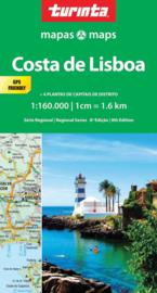 Autokaart-Fietskaart Lissabon Kuststreek | Turinta nr. 4 | 1:160.000 | ISBN 9789895560967
