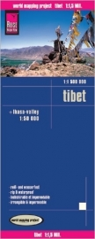 Wegenkaart Tibet | Reise Know How | 1:1,5 miljoen | ISBN 9783831770854