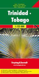 Wegenkaart Trinidad & Tobago | Freytag & Berndt | 1:125.000 | ISBN 9783707907742