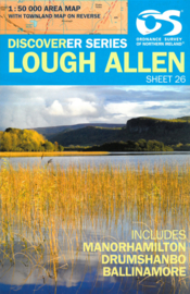 Wandelkaart Lough Allen | Discovery Northern Ireland 26 - Ordnance survey | 1:50.000 | ISBN 9781905306947