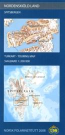 Topografische kaart Nordenskiold Land - Svalbard - Spitzbergen | 1:200.000 |  Norsk Polarinstitutt |  K020 | 7046660088708