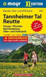 Wandelkaart Tannheimer Tal, Reutte XL | Walter Mayr 409 | 1:25.000 | ISBN 9783854914440