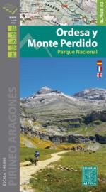Wandelkaart Ordesa y Monte Perdido | Editorial Alpina | Centrale Pyreneeën | 1:40.000 | ISBN 9788480908207