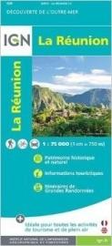 Wegenkaart - Wandelkaart La Reunion | IGN | 1:75.000 | ISBN 9782758534488