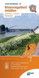 Fietskaart Rivierengebied Midden | ANWB 27 | 1:66.666 | ISBN 9789018047283