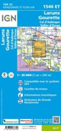 Wandelkaart Laruns, Gourette, Col d`Aubisque, Arudy |  Pyreneeën | IGN 1546ET -IGN 1546 ET | ISBN 9782758538790