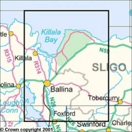 Wandelkaart Ordnance Survey / Discovery series | Mayo/ Sligo 24 | ISBN 9781907122828