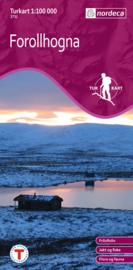 Wandelkaart  Forollhogna 2731 | Nordeca | 1:100.000 | ISBN 7046660027318