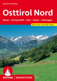 Wandelgids Osttirol Nord   Rother Verlag   Matrei, Kals, Virgen- und Defereggental   ISBN 9783763340996