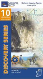 Wandelkaart Ordnance Survey / Discovery series | Donegal SW 10 | ISBN 9781912140053