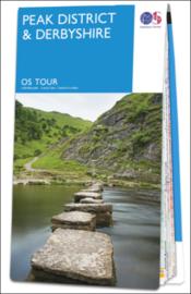 Fietskaart - Wegenkaart Peak District and Derbyshire nr. 4 | Ordnance Survey| 1:100.000 | ISBN 9780319263860