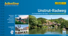 Fietsgids Unstrut Radweg - 327 km   Bikeline   Fietsen in Thüringen   ISBN 9783850009119