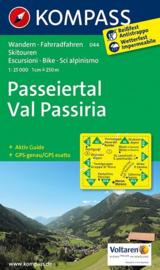 Wandelkaart Passeiertal / Val Passiria | Kompass 044 | 1:25.000 | ISBN 9783850264563