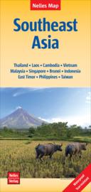 Landkaart Zuidoost Azië - Southeast Asia | Nelles | 1:4,5 miljoen | ISBN 9783865744838
