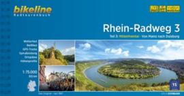 Fietsgids Rhein Radweg 3 : Mainz - Duisburg - 302 km.| Verlag Esterbauer | ISBN 9783850008655