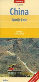 Wegenkaart China Noordoost   Nelles   1:1,5 miljoen   ISBN 9783865740175