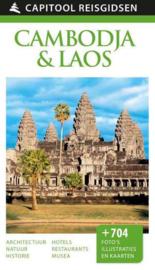 Reisgids Cambodja en Laos | Capitool | ISBN 9789000341566