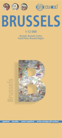 Stadskaart Brussel | Borch | 1:12.000 | ISBN 9783866093553