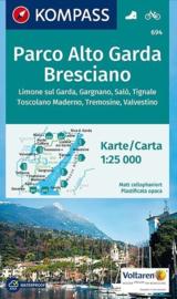 Wandelkaart Parco Alto Garda Bresciano | Kompass 694 | 1:25.000 | ISBN 9783850264716