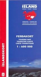 Wegenkaart Mal og Menning Iceland | 1:600.000 | ISBN 97899793176930
