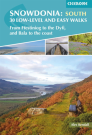 Wandelgids Snowdonia: 30 Low-level and easy walks - South | Cicerone | ISBN 9781852849856