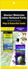 Natuurgids - Topografische kaart - Wandelkaart Glacier / Waterton National Park | National Geographic Adventure Set  | ISBN 9781583559277