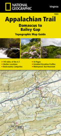 Wandelkaart Appalachian Trail – Damascus to Bailey Gap  | 1:63360 | National Geographic 1503 | ISBN 9781597756402