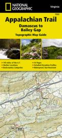 Wandelkaart Appalachian Trail – Damascus to Bailey Gap  | 1:63360 | National Geographic 1503 | ISBN 9781597756402