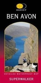 Wandelkaart Ben Avon | Harvey Maps | Schaal 1:25.000 | ISBN 9781851374687