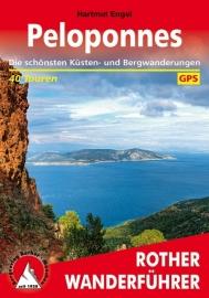 Wandelgids Peloponnesos - Peloponnes | Rother Verlag | ISBN 9783763344468