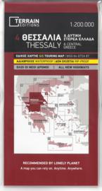 Fiets- & Wegenkaart Thessaly 4 - Griekenland | Terrain Maps | ISBN 9789609456234