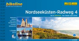 Fietsgids Nordseeküsten Radweg 4 : Tonder - Skagen | Bikeline | Noordzeefietsroute | ISBN 9783850009140