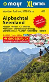 Wandelkaart Alpbachtal - Seenland XL | Walter Mayr 428 | 1:25.000 | ISBN 9783850264419