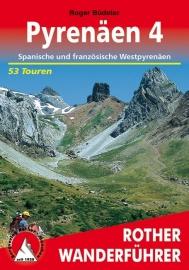 Wandelgids Pyrenäen 4 | Rother Verlag | Spanische und französische Westpyrenäen | ISBN 9783763343188