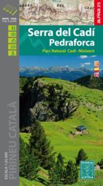 Wandelkaart Serra del Cadi Pedraforca | Editorial Alpina | 1:25.000 | ISBN 9788480906494